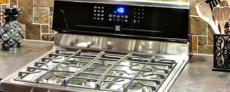 Range, Cooktop and Oven repairs.